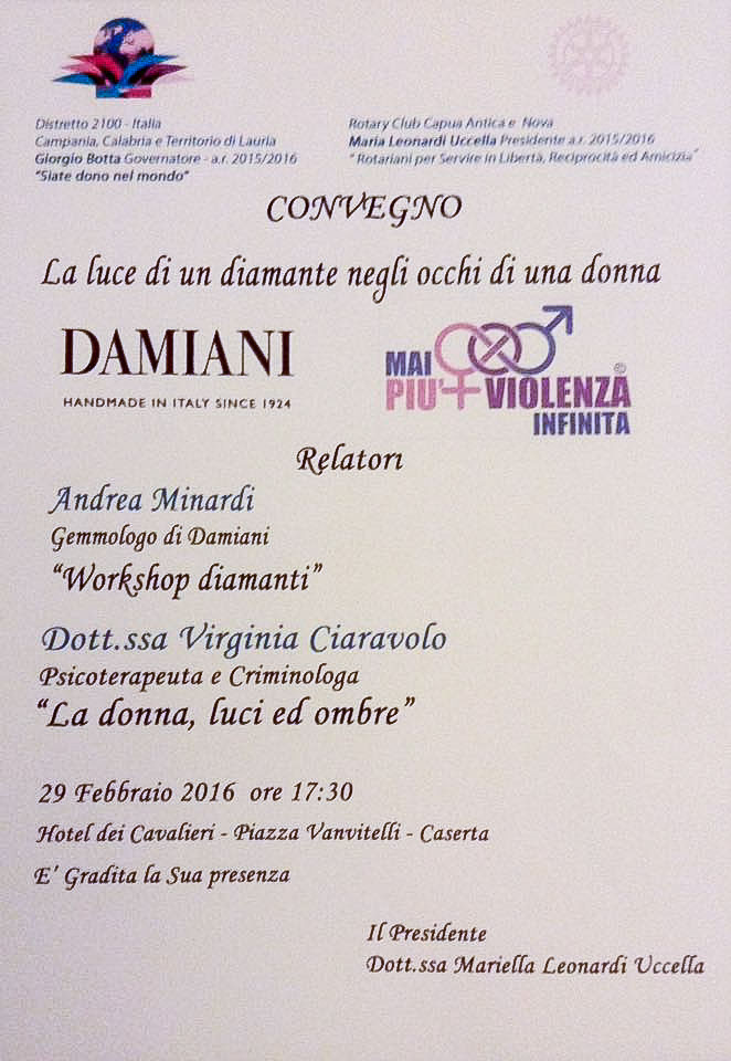 Roma 16 Marzo 2016